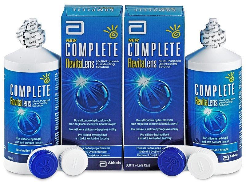 Complete RevitaLens 2x360ml  - Pflegelösung – günstigeres Duo Pack