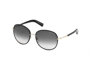 Sonnenbrillen Tom Ford - Tom Ford GEORGIA FT0498 01B