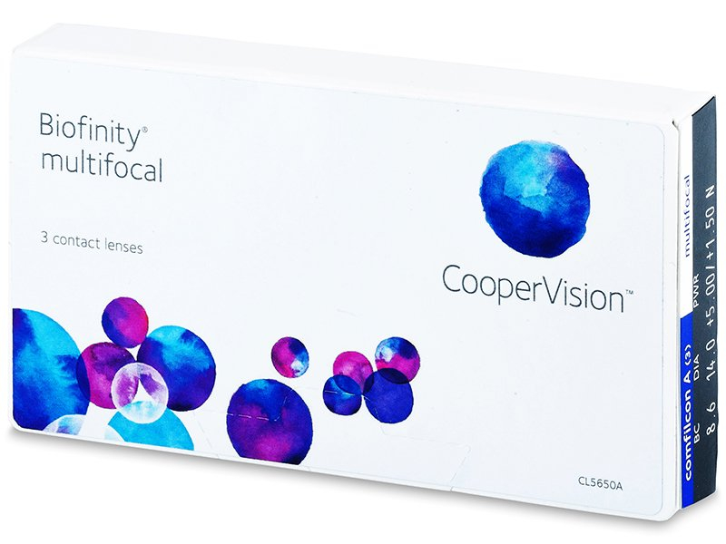 Multifokale Kontaktlinsen - Biofinity Multifocal (3Linsen)