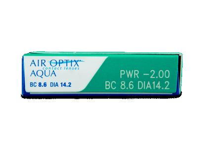 Air Optix Aqua (3Linsen) - Vorschau