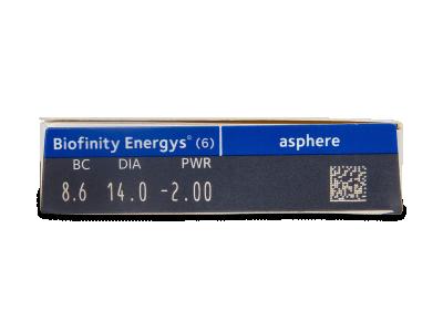 Biofinity Energys (6 Linsen) - Vorschau