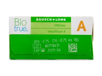 Biotrue ONEday for Astigmatism (30 linsen) - Vorschau