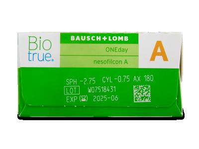 Biotrue ONEday for Astigmatism (90 linsen) - Vorschau