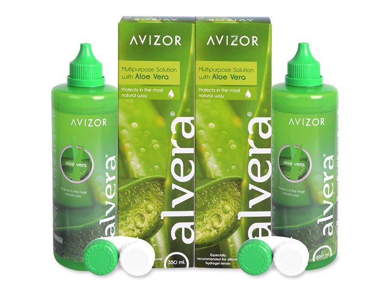 Pflegemittel Alvera 2x 350 ml  - Pflegelösung – günstigeres Duo Pack