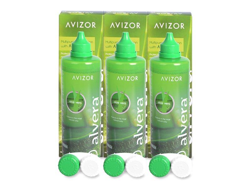 Pflegemittel Alvera 3x 350 ml  - Pflegelösung – 3er Pack