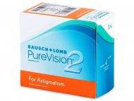 Kontaktlinsen Bausch and Lomb - PureVision 2 for Astigmatism (6 Linsen)