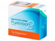 Torische (Astigmatische) Linsen - PureVision 2 for Astigmatism (6Linsen)