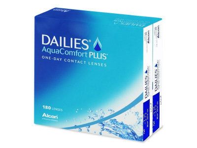 Dailies AquaComfort Plus (180 Linsen) - Älteres Design