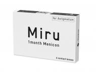 Torische (Astigmatische) Kontaktlinsen - Miru 1 Month Menicon for Astigmatism (6 Linsen)
