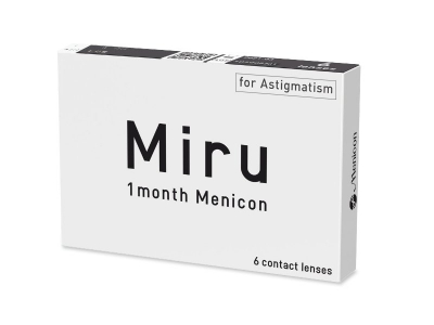 Miru 1 Month Menicon for Astigmatism (6 Linsen) - Älteres Design