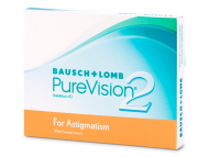 Kontaktlinsen Bausch and Lomb - PureVision 2 for Astigmatism (3 Linsen)