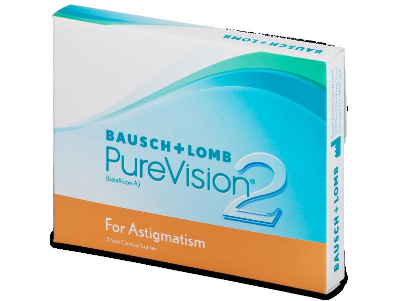 PureVision 2 for Astigmatism (3Linsen) - Torische Kontaktlinsen