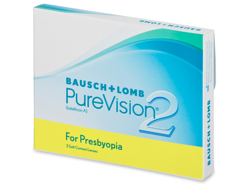 PureVision 2 for Presbyopia (3Linsen) - Multifokale Kontaktlinsen