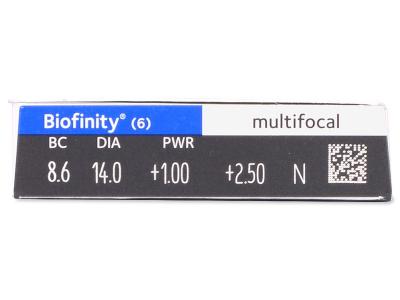 Vorschau - Biofinity Multifocal (6Linsen)