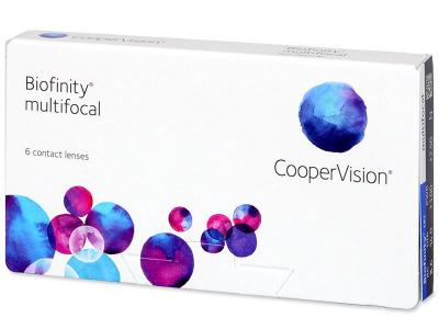 Multifokale Kontaktlinsen - Biofinity Multifocal (6Linsen)