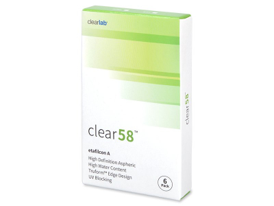 Clear 58 (6Linsen) - 2-Wochen-Kontaktlinsen