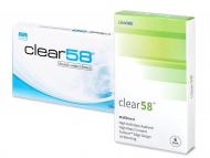 Monatslinsen - Clear 58 (6Linsen)