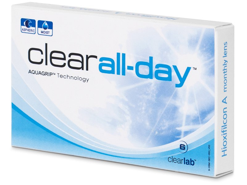 Clear All-Day (6 Linsen) - Monatslinsen