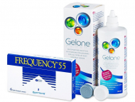 Frequency 55 (6 Linsen) + Gelone 360ml
