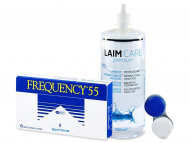 Frequency 55 (6 Linsen) +  Laim Care 400ml
