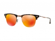 Sonnenbrillen Clubmaster / Browline - Ray-Ban CLUBMASTER LIGHT RAY RB8056 175/6Q