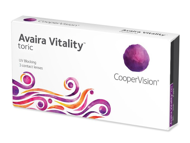 Avaira Vitality Toric (3 Linsen) - Torische Kontaktlinsen
