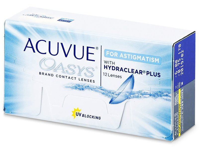 Acuvue Oasys for Astigmatism (12Linsen)