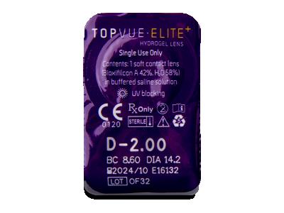 TopVue Elite+ (2 x 10 Linsen) - Blister Vorschau