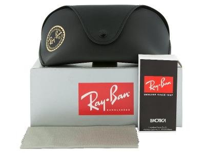 Ray-Ban Jackie Ohh II RB4098 710/71  - Inhalt der Packung (Illustrationsbild)