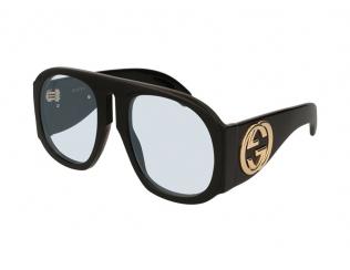 Sonnenbrillen Extragroß - Gucci GG0152S-001