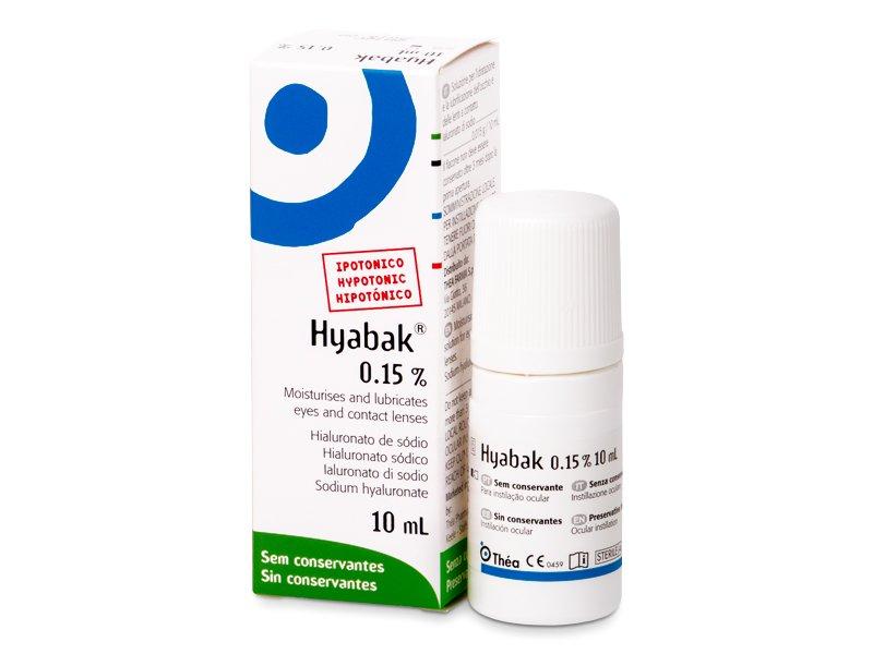 Hyabak 10 ml  - Augentropfen