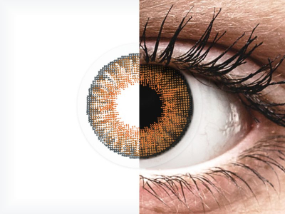 Air Optix Colors - Honey - mit Stärke (2Linsen)