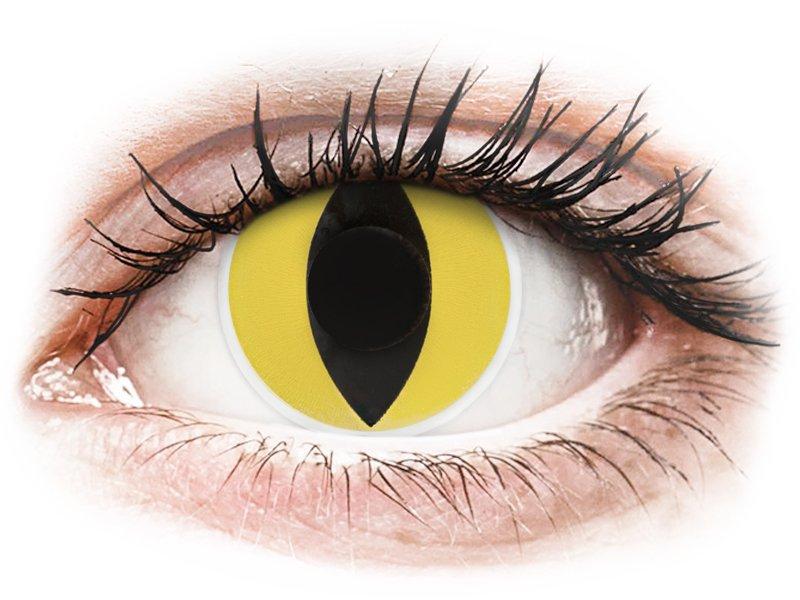 ColourVUE Crazy Lens - Cat Eye - ohne Stärke (2 Linsen)