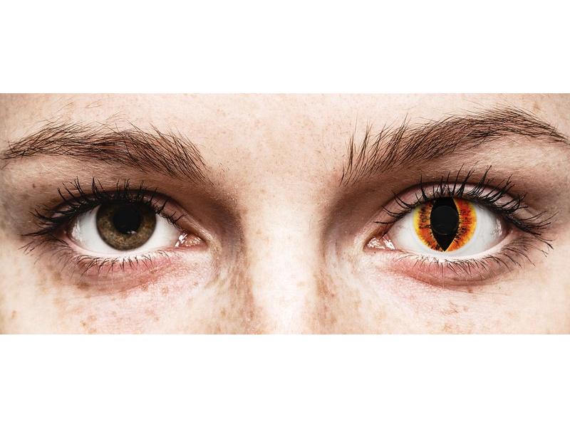 ColourVUE Crazy Lens - Saurons Eye - ohne Stärke (2 Linsen)