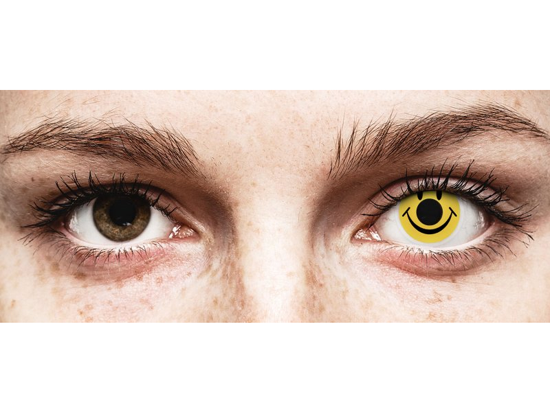 ColourVUE Crazy Lens - Smiley - ohne Stärke (2 Linsen)