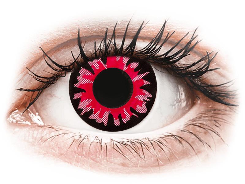 ColourVUE Crazy Lens - Volturi - ohne Stärke (2 Linsen) - Farblinsen