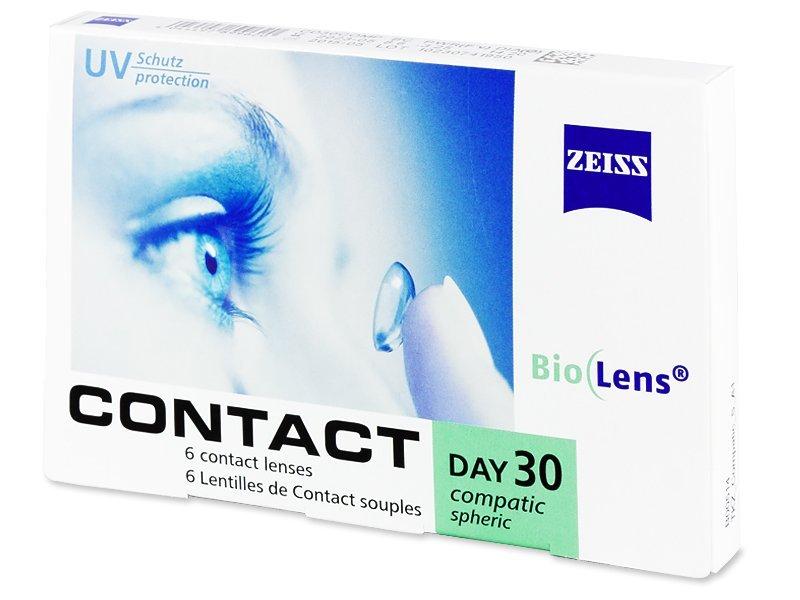 Carl Zeiss Contact Day 30 Compatic (6Linsen) - Monatslinsen