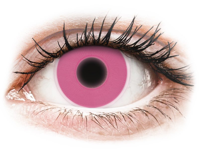 ColourVUE Crazy Glow Pink - ohne Stärke (2Linsen)