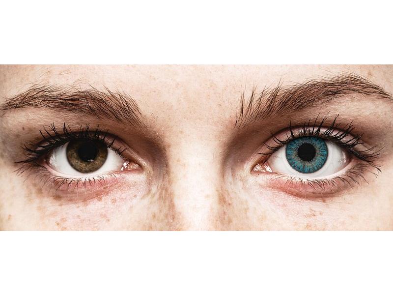 TopVue Color Tageslinsen - Blue - ohne Stärke (10Linsen)