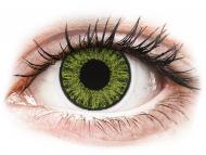 Farblinsen mit Stärke - TopVue Color Tageslinsen - Fresh green - mit Stärke (10Linsen)
