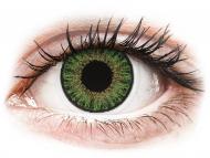 Farblinsen mit Stärke - TopVue Color Tageslinsen - Green - mit Stärke (10Linsen)