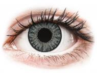 Graue Kontaktlinsen ohne Stärke - TopVue Color Tageslinsen - Soft Grey - ohne Stärke (10Linsen)