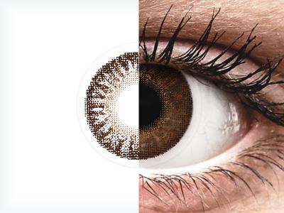 TopVue Color - Brown - ohne Stärken (2 Linsen)