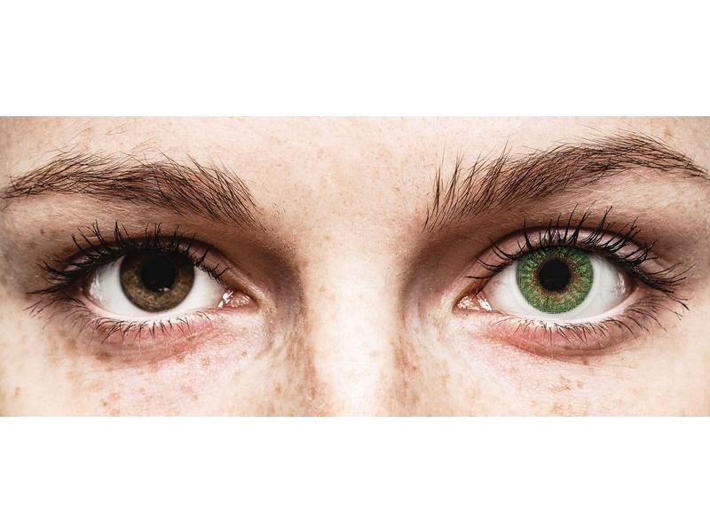 TopVue Color - Green - ohne Stärken (2 Linsen)