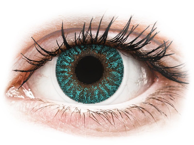 TopVue Color - Turquoise - ohne Stärken (2 Linsen)