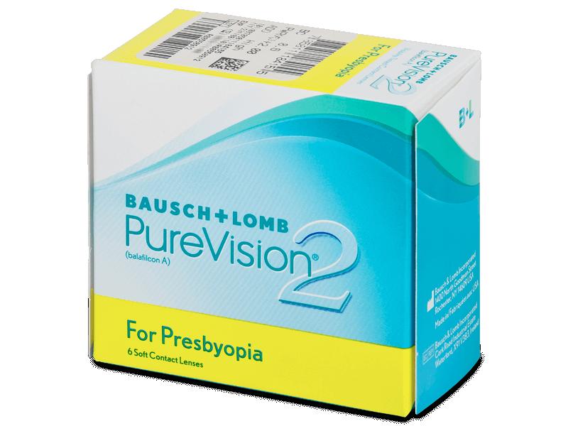 PureVision 2 for Presbyopia (6Linsen) - Multifokale Kontaktlinsen