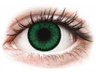 Grüne Kontaktlinsen mit Stärke - SofLens Natural Colors Emerald - mit Stärke (2 Linsen)