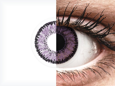 SofLens Natural Colors Indigo - mit Stärke (2 Linsen)