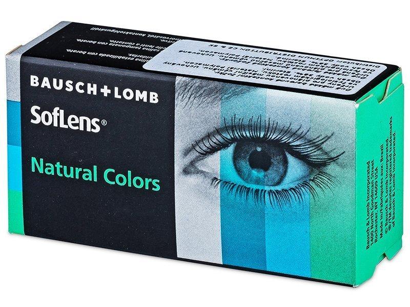 SofLens Natural Colors Jade - ohne Stärken (2 Linsen) - SofLens Natural Colors Jade - ohne Stärken (2 Linsen)
