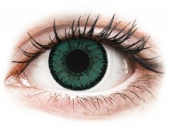 Farblinsen mit Stärke - SofLens Natural Colors Jade - mit Stärke (2 Linsen)